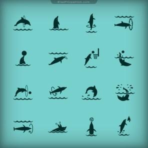 Dolphin-Paradise-Game-Icon-Design-01