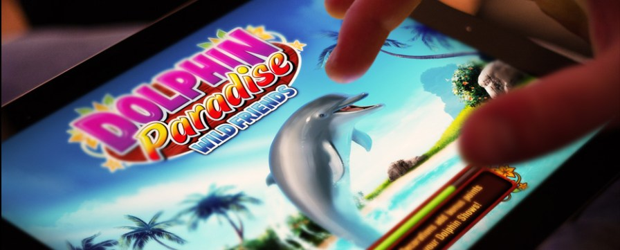 Dolphin-Paradise-Wild-Friends-iPad-Game-Header
