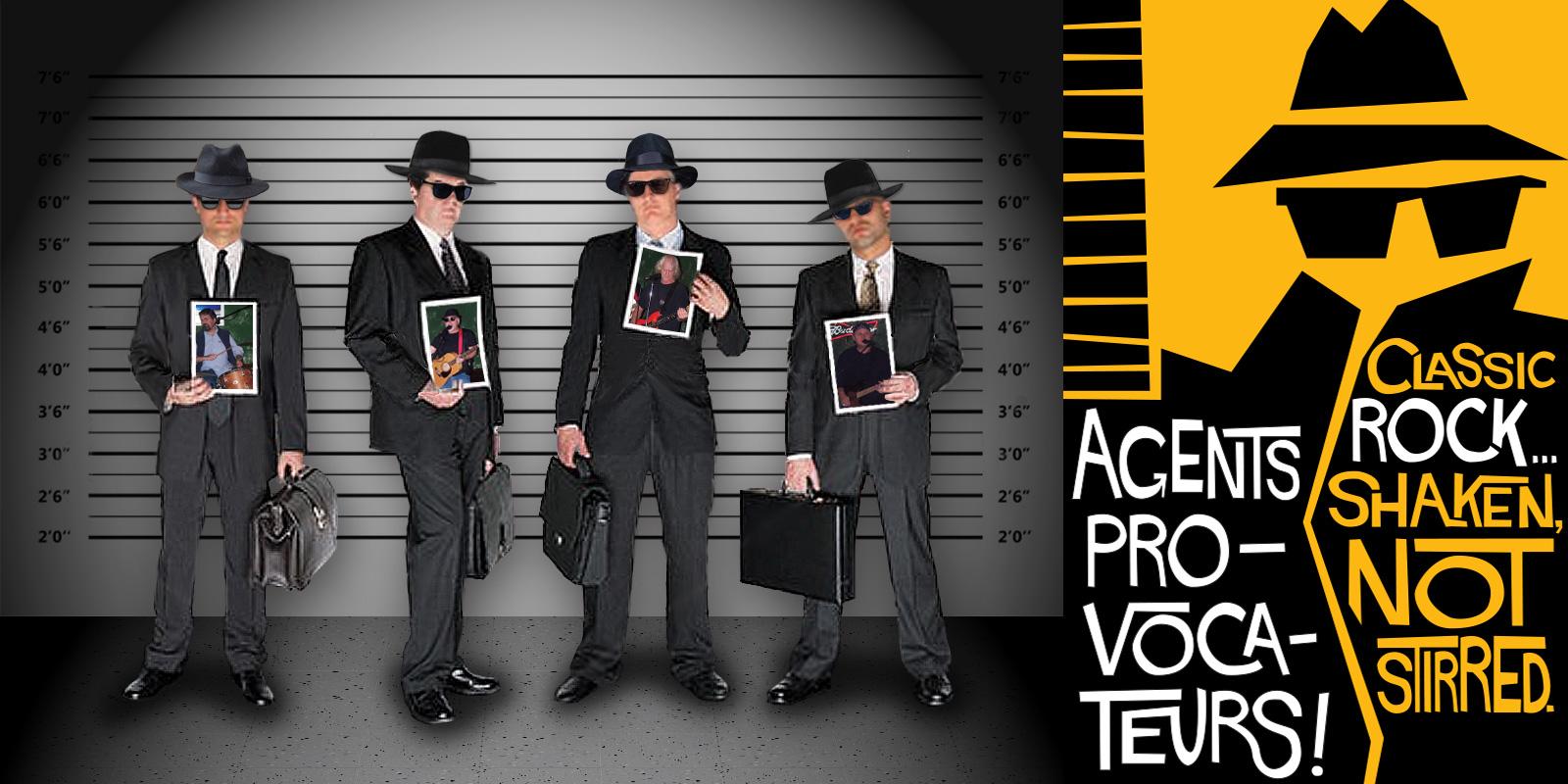 Classic Rock & Blues –Agents Provocateurs