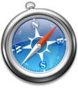 Apples Safari 4.0 web browser icon
