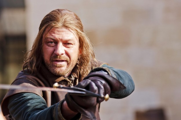 "People used to say ""He who lives by the sword dies by the sword,"" Ned Stark being a case in point. Today, they seem to think that if you outlaw swords, only outlaws will have swords..."