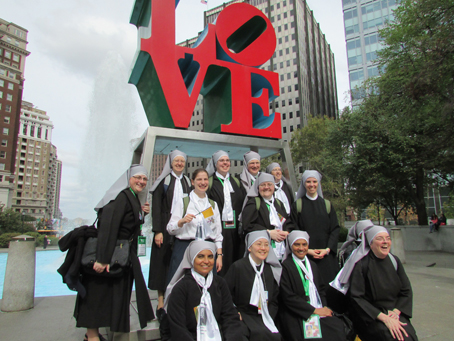 The Little Sisters of the Poor are all about love, too.