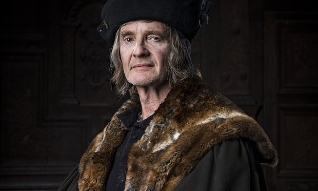 "As Thomas More in ""Wolf Hall."" There's the kind of joke Jack would love: Lesser as More."