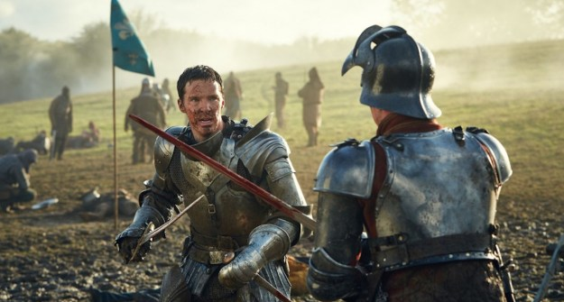 "Benedict Cumbatch as Richard III in ""The Hollow Crown: The Wars of The Roses."""
