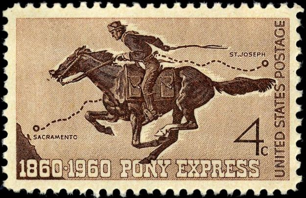 My ancestor was sort of an Eastern version of a Pony Express rider.