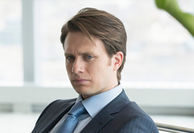 """MR. ROBOT -- """"d3bug.mkv"""" Episode 103 -- Pictured: Martin Wallström as Tyrell Wellick -- (Photo by: Virginia Sherwood/USA Network)"""