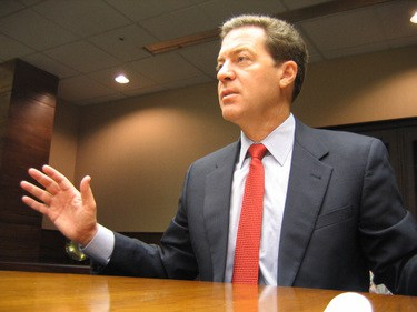 The BAD news is, Sam Brownback's likely to veto expansion in Kansas./2007 file photo