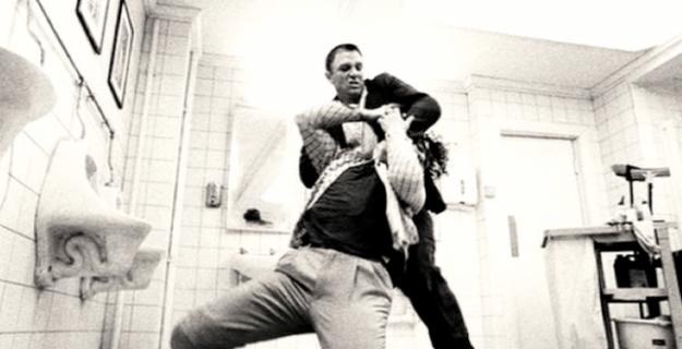 Daniel Craig: A bit of the old Ultraviolence.