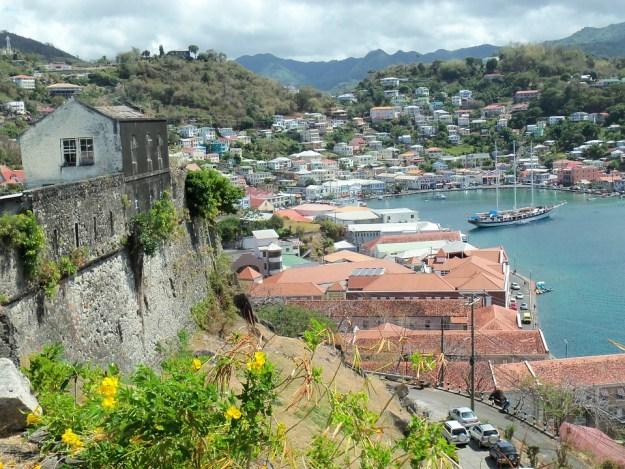 A Dominica scene.