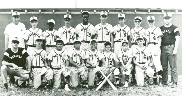 MacDill senior little league team