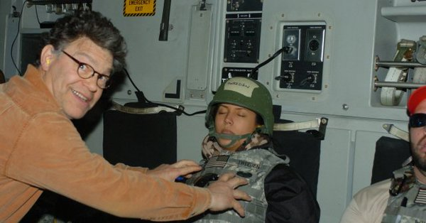 Apparently, Al Franken thought this was funny.