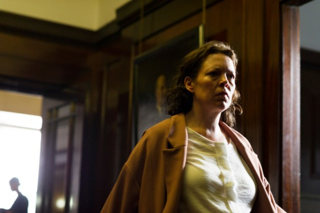 "Olivia Colman as Angela Burr in ""The Night Manager"""