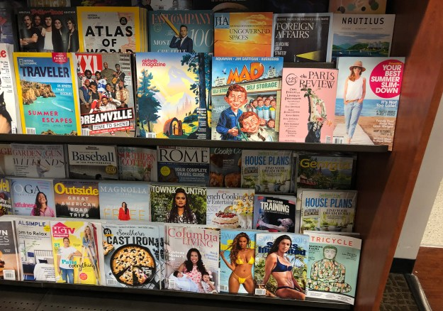 Russell House magazine rack