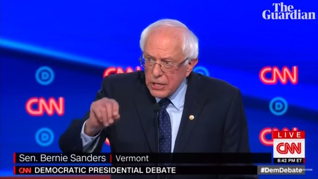 Here's Bernie, seconds before he promised me my hearing aids...