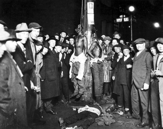 Literal lynching.