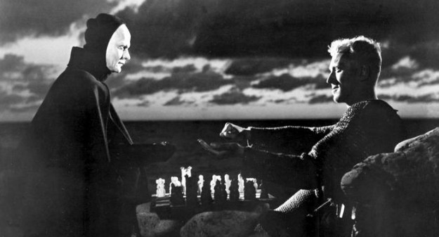 Von Sydow's knight place chess against Death in 'The Seventh Seal.'