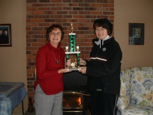 Ellen and Robyn win Rotary Tournament