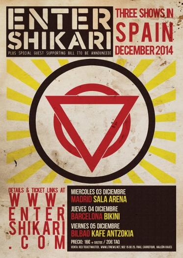 enter shikari españa