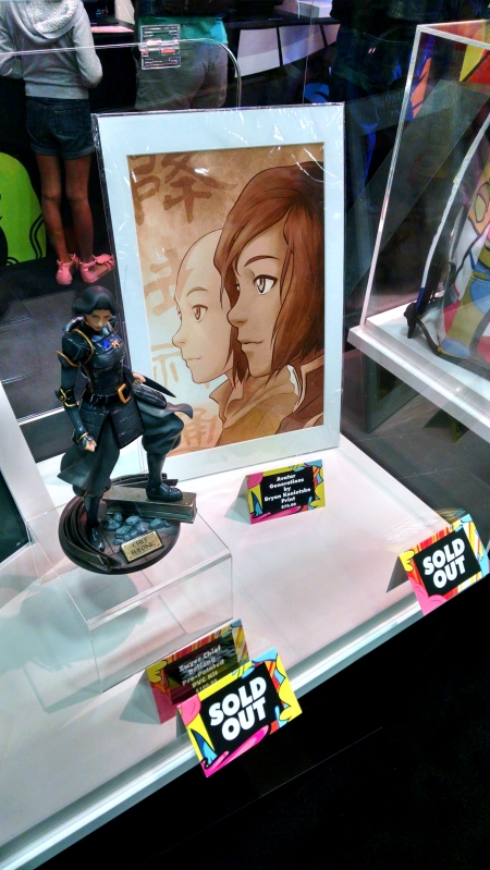[image: the statue and the print hella sold out]