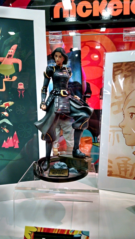 [image: nickelodeon's gorgeous statue of chief lin beifong from legend of korra]