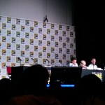 [image: view of the stage proper from where I was sitting at the sherlock panel]