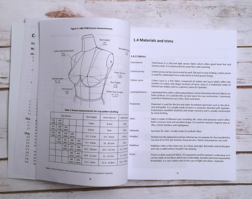 shin-bra-making-pattern-book-measurement