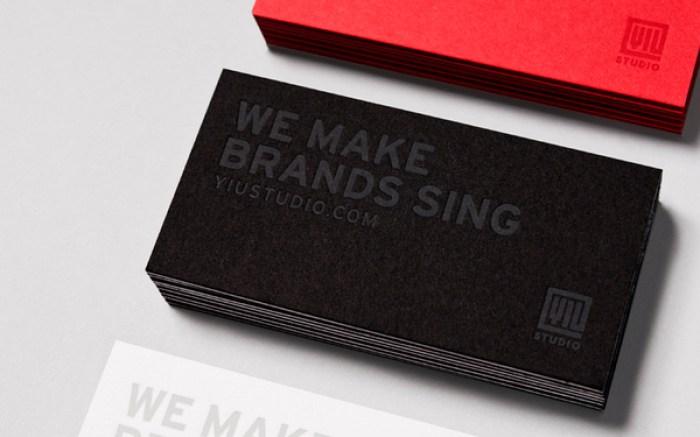 Yiu Studio business card deign 12