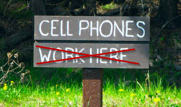 Jamming cell signals – How to keep people from talking on the phone