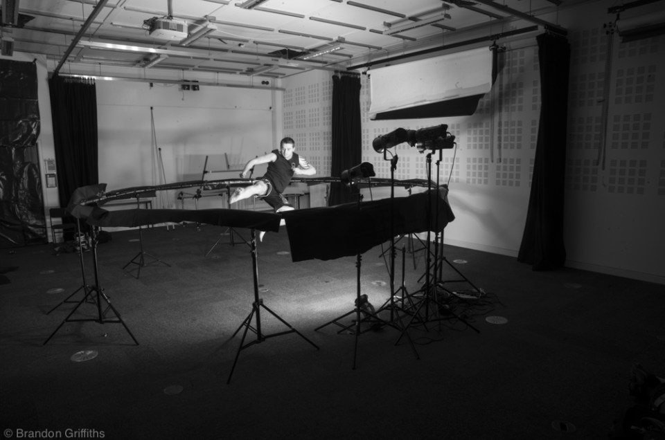 Pinhole Bullet Time Behind The Scenes