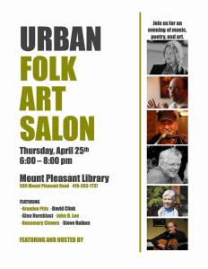 April Urban Folk Art Salon