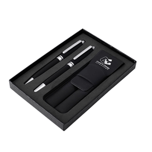 Two pieces of high quality pen with pen case