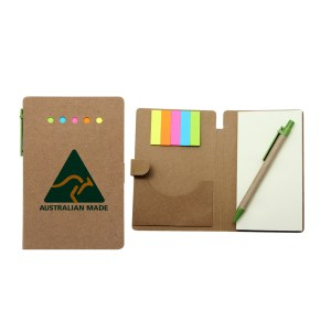 Eco-Sticky-Notes-Memo-Pad-with-Recycled-Paper-Pen 02