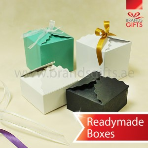Gift and Favor Boxes for Chocolates and Sweets in ready made sizes www.brandsgifts.ae