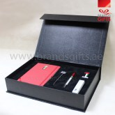 UAE National Day Gifts Box, Custom Corporate Gift Set, National Day Giveaways , Promotional Gift Items with Leather Box, www.brandsgifts.ae