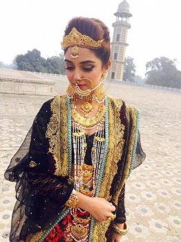 Maya Ali in the photoshoot