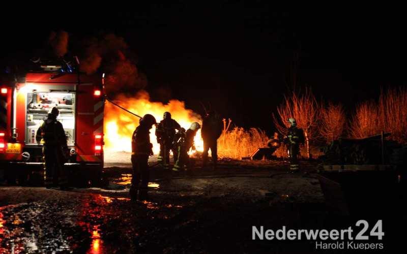 Rubbermatten in brand Nederweert-Eind