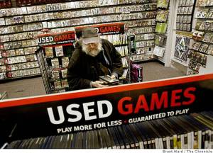 used video games 300x216 No Second Hand Games? Really? Really?