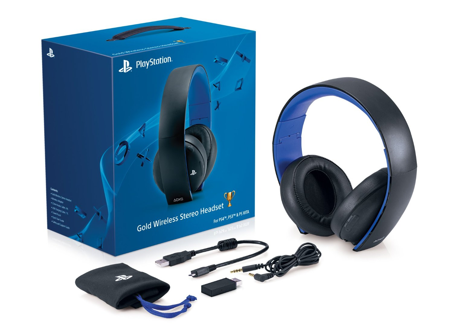 Ps4 Headset Gold Sony Official Gold Wir...