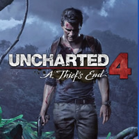 Uncharted 4 A Thief's End PS4 Cover