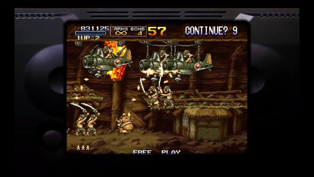 Metal Slug Anthology PSP Review @ Gaming Target
