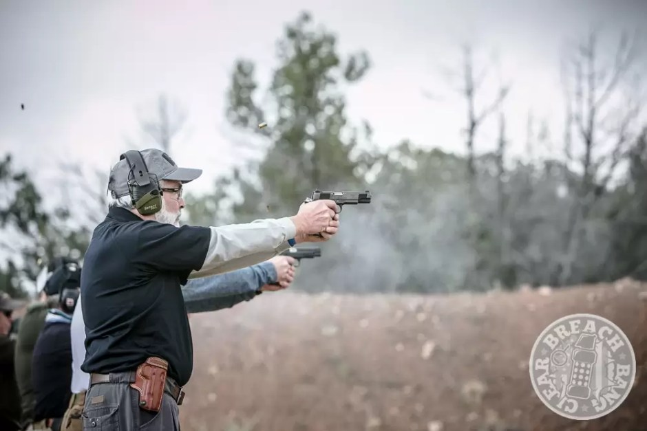 A student at Evolution of Shooting
