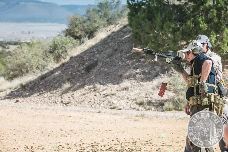 Speed reloads with a carbine