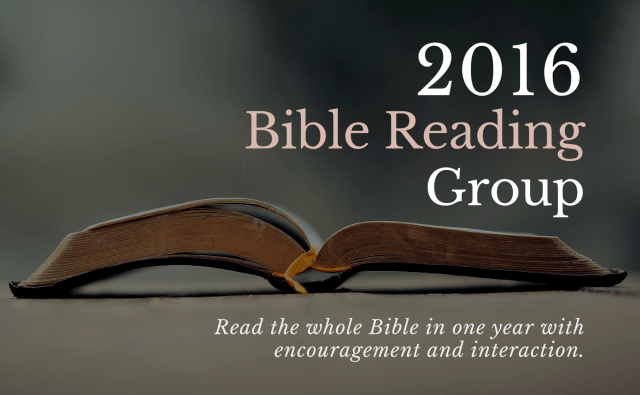 Bible Reading Group (1)
