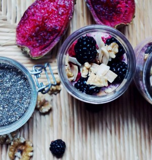 Dragonfruit Berry Bliss Chia Pudding