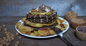 Chocolate Maca Tigernut Buckwheat Gluten Free Pancakes 2
