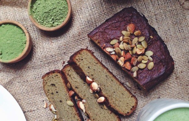 Matcha Protein Banana Bread Recipe with Tigernuts (It's Gluten Free!)