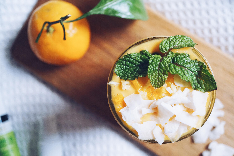 Monday Blues Be Gone Tangerine Coconut Smoothie Amp Diy