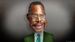 Image credit:  'Ben Carson - Caricature' by Flickr user  DonkeyHotey license CC BY 2.0.