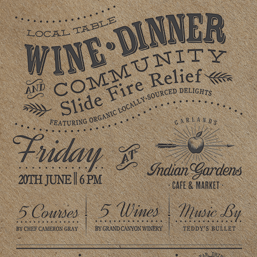 Grand Canyon Winery Flyer