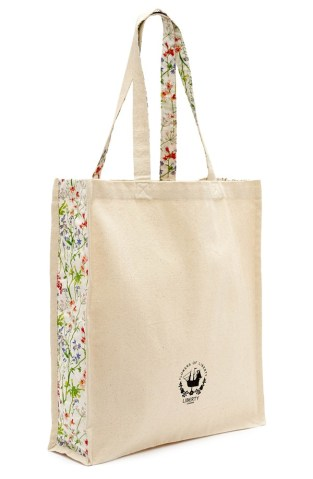 Floral Print Canvas Tote $32.00